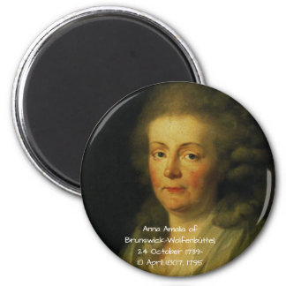 Anna Amalia of Brunswick-Wolfenbuttel 1795 Magnet