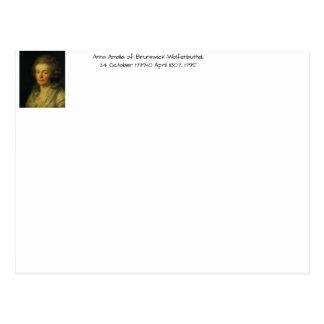Anna Amalia of Brunswick-Wolfenbuttel 1795 Postcard