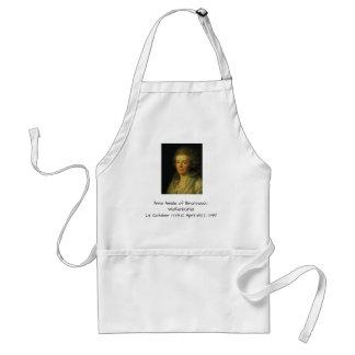 Anna Amalia of Brunswick-Wolfenbuttel 1795 Standard Apron