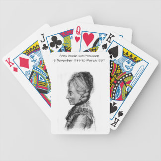 Anna amalie von Preussen Bicycle Playing Cards