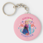 Anna and Elsa Sisters Forever Keychain