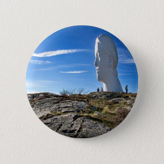 Anna at Pilane, Tjörn 6 Cm Round Badge