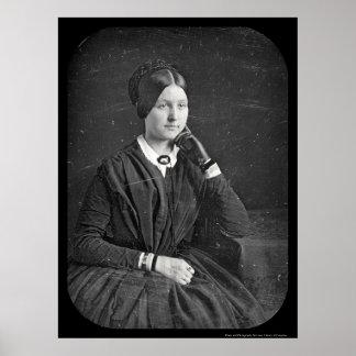 Anna Baker Daguerreotype 1846 Posters
