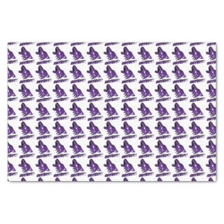 Anna coyote wrapping paper