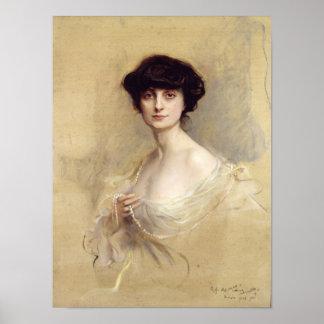 Anna de Noailles  1913 Poster