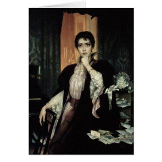 Anna Karenina, 1904 Card