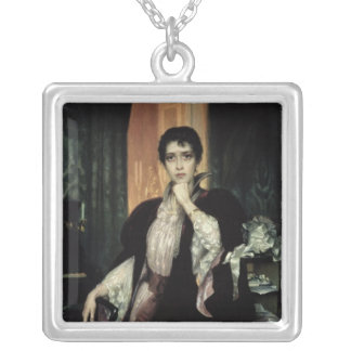 Anna Karenina, 1904 Silver Plated Necklace