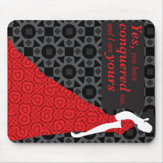 Anna Karenina gift with quote from the novel Mouse Pad