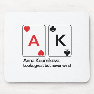 Anna Kournikova / Ace King Mouse Pad