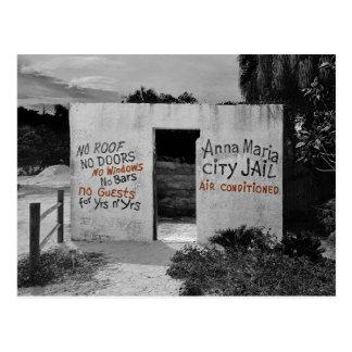Anna Maria City Jail Postcard