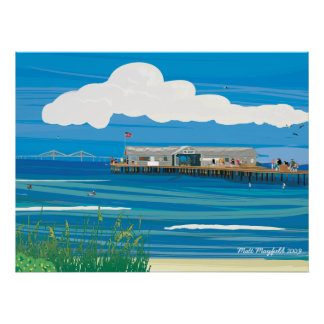 Anna Maria Island City Pier Posters