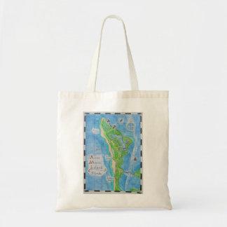 Anna Maria Island Map Bag