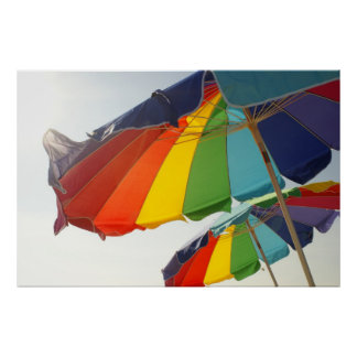 Anna Maria Island umbrellas 2 Print