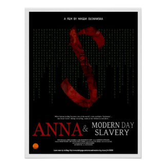 """Anna & Modern Day Slavery"" Film Poster (17""x22"")"
