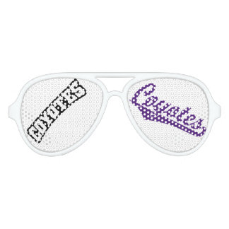 Anna Party Glasses - Coyotes