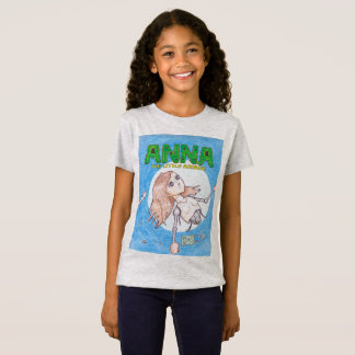 Anna The Little Android Cover Art Shirt (girls)