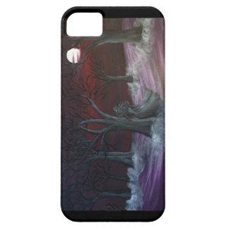Annabel Lee dark misty forest iPhone 5/5s case