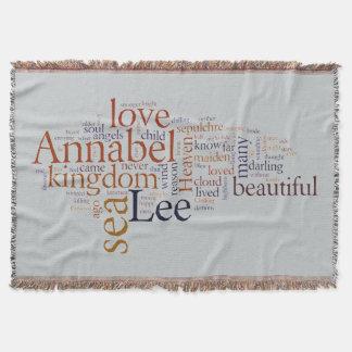 Annabel Lee Throw Blanket