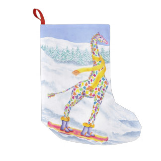 Annabelle on Pow Christmas Stocking