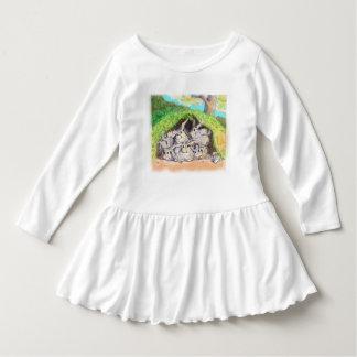 Annabelle Sprout; Backyard Bunnies Dress