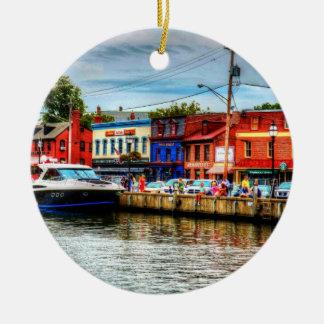 Annapolis City Dock Ornament