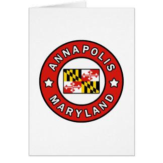 Annapolis Maryland Card