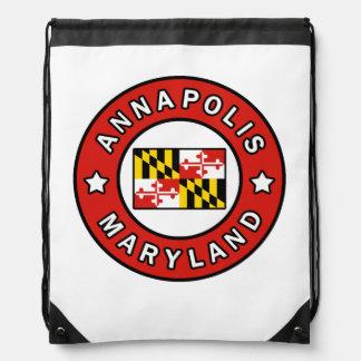 Annapolis Maryland Drawstring Bag