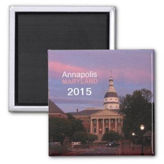 Annapolis Maryland Fridge Magnet Change Year
