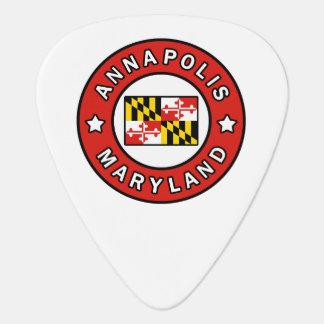 Annapolis Maryland Guitar Pick