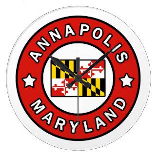 Annapolis Maryland Large Clock
