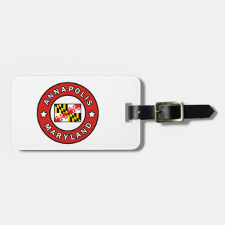 Annapolis Maryland Luggage Tag