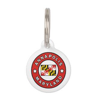 Annapolis Maryland Pet Tag