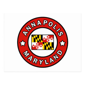 Annapolis Maryland Postcard