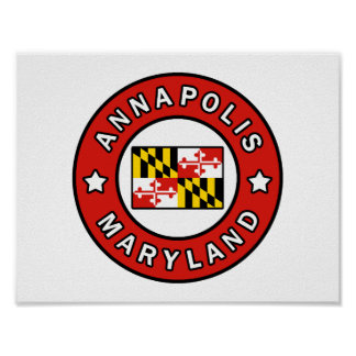 Annapolis Maryland Poster