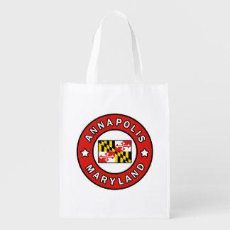 Annapolis Maryland Reusable Grocery Bag