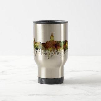 Annapolis, Maryland Skyline SG - Safari Buff Travel Mug