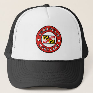 Annapolis Maryland Trucker Hat