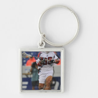 ANNAPOLIS, MD - AUGUST 27: Paul Rabil #99 4 Silver-Colored Square Key Ring