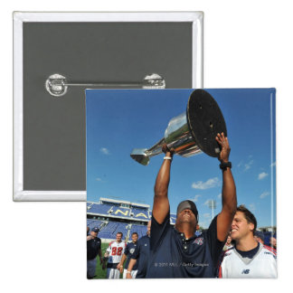 ANNAPOLIS, MD - AUGUST 28:  Head coach Billy Day 15 Cm Square Badge