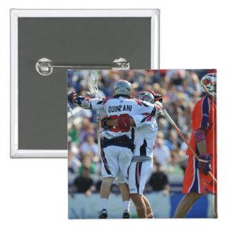 ANNAPOLIS, MD - AUGUST 28:  Max Quinzani #88 3 15 Cm Square Badge
