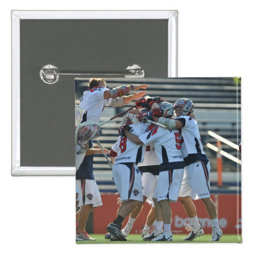 ANNAPOLIS, MD - AUGUST 28:  The Boston Cannons 3 Buttons
