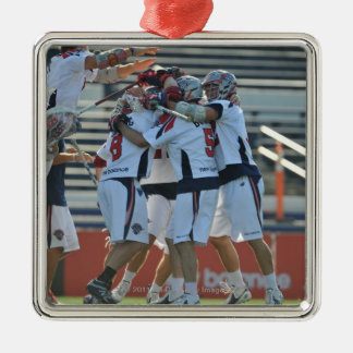 ANNAPOLIS MD - AUGUST 28 The Boston Cannons 3 Christmas Ornament