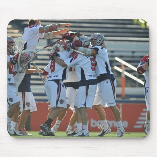 ANNAPOLIS, MD - AUGUST 28:  The Boston Cannons 3 Mousepads