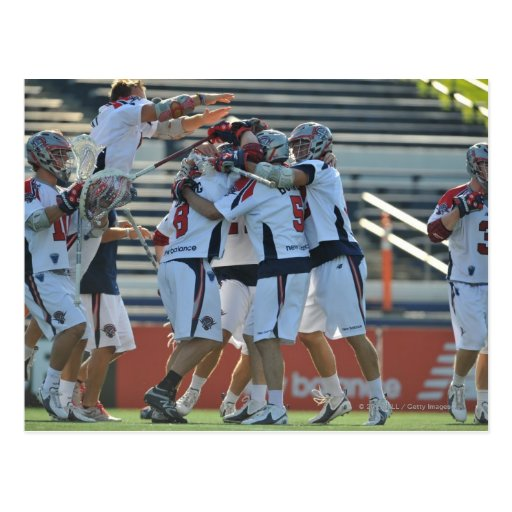 ANNAPOLIS, MD - AUGUST 28:  The Boston Cannons 3 Postcard