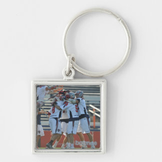 ANNAPOLIS, MD - AUGUST 28:  The Boston Cannons 3 Silver-Colored Square Key Ring