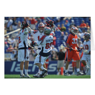 ANNAPOLIS, MD - AUGUST 28:  The Boston Cannons 4 Cards