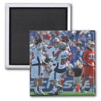 ANNAPOLIS MD - AUGUST 28 The Boston Cannons 4 Refrigerator Magnet
