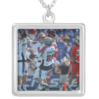 ANNAPOLIS, MD - AUGUST 28:  The Boston Cannons 4 Custom Necklace