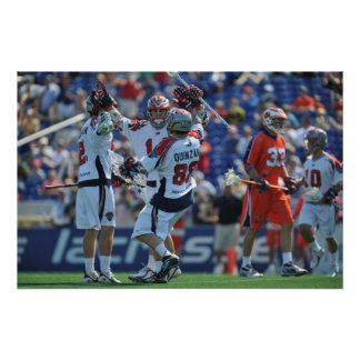 ANNAPOLIS MD - AUGUST 28 The Boston Cannons 4 Poster