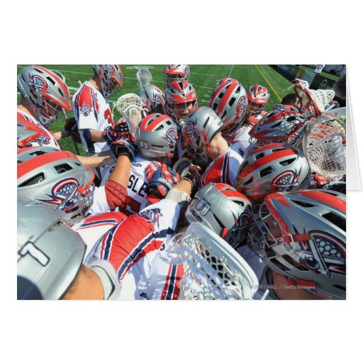 ANNAPOLIS, MD - AUGUST 28:  The Boston Cannons 5 Greeting Cards